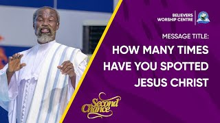 How many times have you spotted Jesus Christ in your life - Stephen Adom Kyei Duah