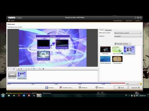 Como Crear Pelicula DVD con Nero [Platinum 2014] + Menu [GamesHard12]
