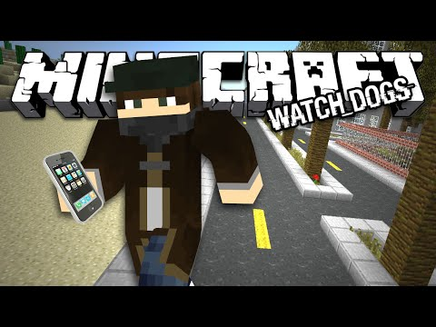 МОД WATCH_DOGS - Minecraft (Обзор Мода)