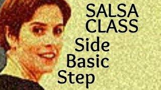 Podstawowe kroki taneczne Salsa: Side Step