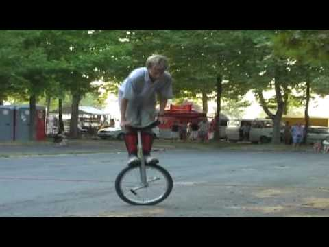 Hungarian unicycle championship