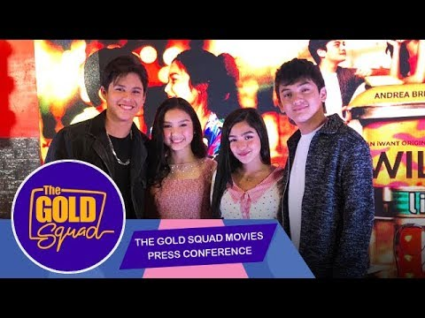 LIVE: The Gold Squad Press Conference for iWant Movies | November 13, 2019