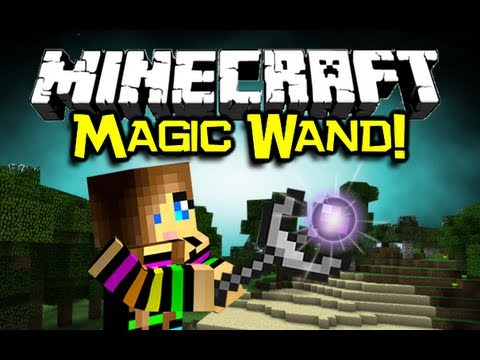 Minecraft: MAGIC WAND MOD Spotlight Amazing Multi Tool Minecraft Mod Showcase