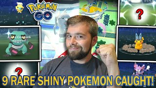 MY BEST EVENT YET! 9 SHINY POKEMON CAUGHT! RESHIRAM RAIDS! BRONZOR SPOTLIGHT HOUR! (Pokemon GO)