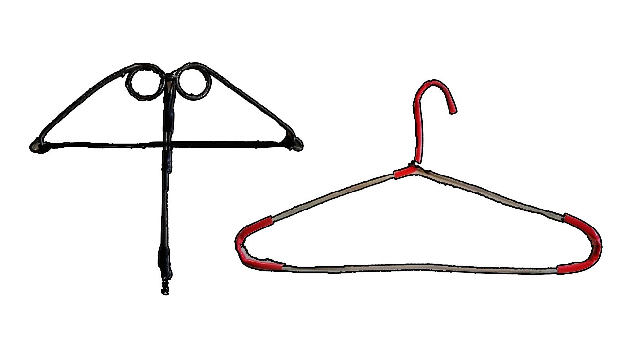 How to make metal hanger crossbow improvised weapons for How do you make a blueprint