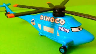 Cars Dinocco Helicopter Toy