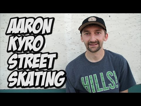 STREET SKATING WITH AARON KYRO !!! - A DAY WITH NKA -