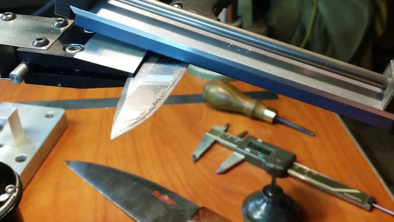 Точилка для охотничьих ножей своими руками 91