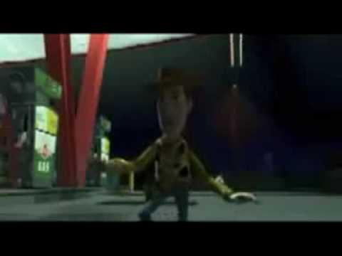 Toy Story - Woody & Buzz μόνοι στο βενζινάδικο