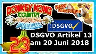 Artikel 13-Bald keine Let's Plays mehr?! | 🍌Donkey Kong Country: Tropical Freeze #23 [DE]/[1440p60]