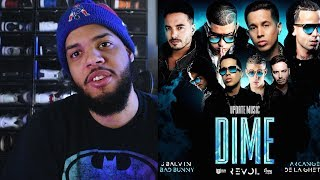 Dime Feat J Balvin Bad Bunny Arcangel De La Ghetto Revol Dime Audio Oficial Reaccion