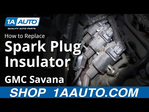 How To Install Replace Spark Plug Insulators Chevy Express GMC Savana