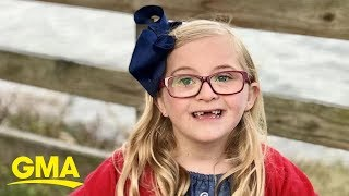 7-year-old shares her thoughts about having Down syndrome l GMA Digital