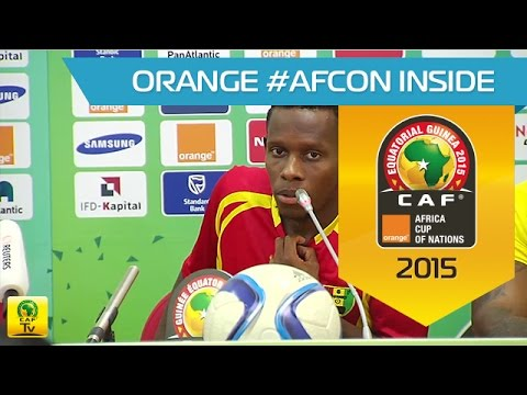 Guinée - Conférence de Presse (19/01) - Orange Africa Cup of Nations, EQG 2015