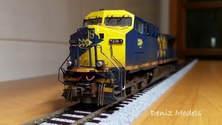 Locomotiva KATO AC4400 MRS ESU LokSound DCC Decoder
