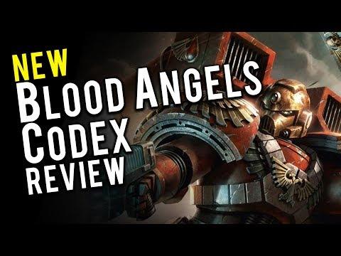 113 Tweaks Found In NEW Blood Angels Codex + Review