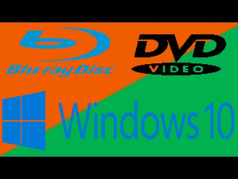 Windows 10: Como reproducir Peliculas DVD y Blue Ray En Español Windows Media Center Descargar Cd