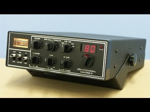HAM International CONCORDE II HAM/CB-Radio by Cybernet