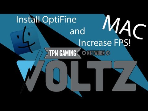 Voltz Tutorial: Install Optifine and Increase Your FPS! (Mac Edition)