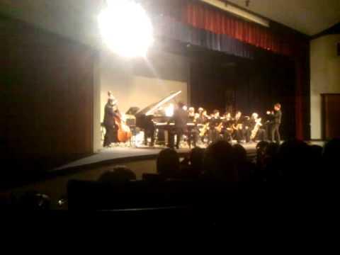 Mt Hood Community College Jazz Band Preformance at Milwaukie High School Part 2