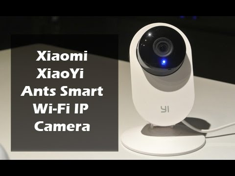 Xiaomi Smart Ants Wi-Fi Camera Review. Setup and Sample Footage