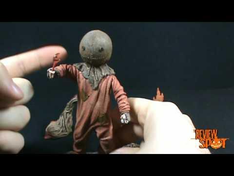 Spooky Spot 2009 - NECA Trick R' Treat Sam figure