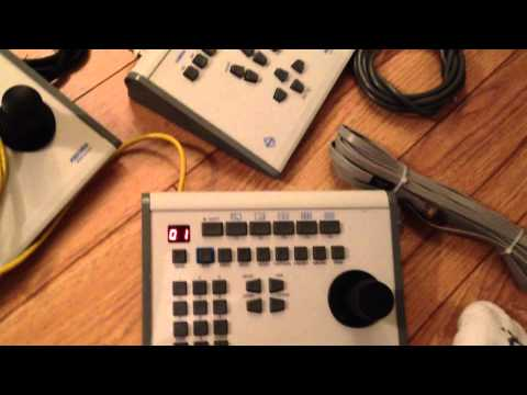 How to use a Pelco KBD300 PTZ camera controller in DIRECT MODE
