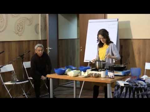 Кулинарный мастер-класс по макробиотике часть 2