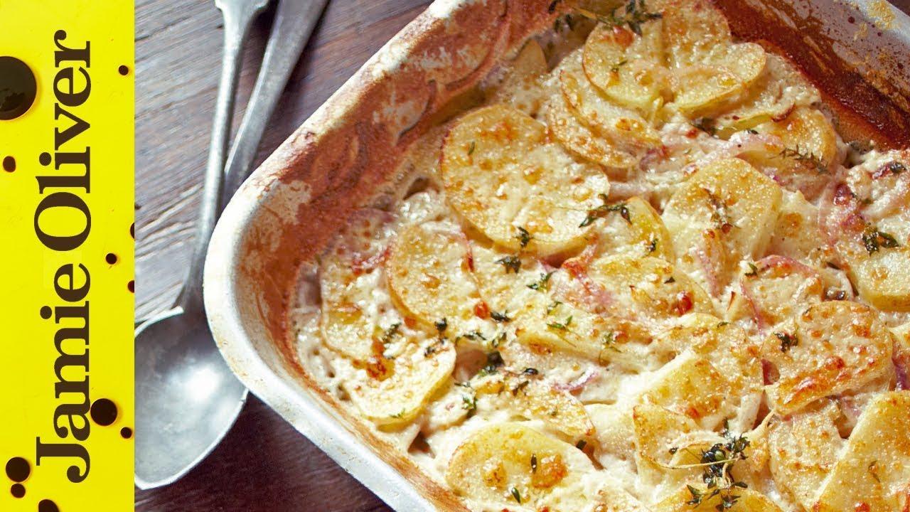 jamie 39 s quick potato dauphinoise