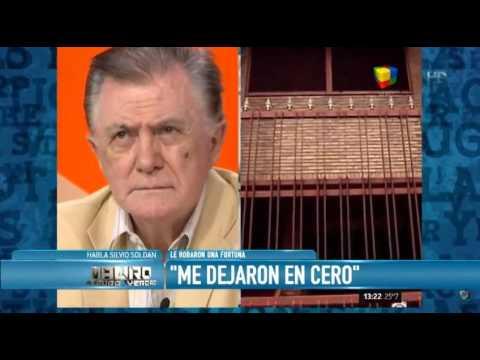 Silvio Soldán: Me dejaron en cero