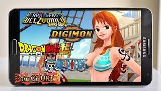 2017 Top 10 Mejores Juegos De Anime Antes Vistos Para Android/Dragon Ball/Yu-Gi-Oh!/Digimon
