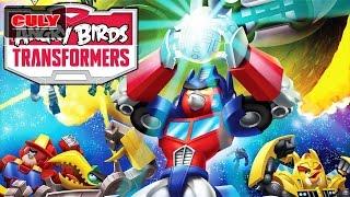Trò chơi Angry Bird Transformer chú chim điên biến hình robot bắn heo cu lỳ chơi game lồng tiếng vui
