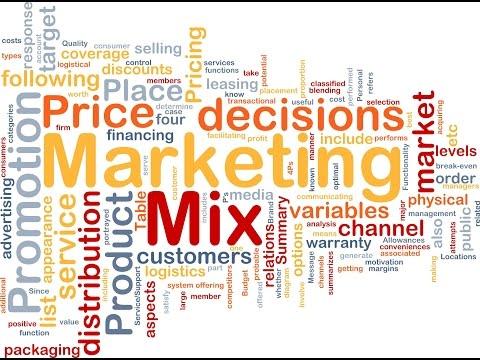 p g marketing mix