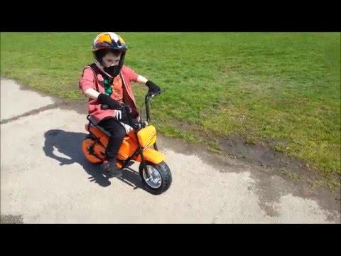 Wizz Monkey electric 250w kids fun bike