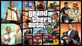Grand Theft Auto V Benchmark [900p] on AMD A-Series APU KAVERI A10-7850K