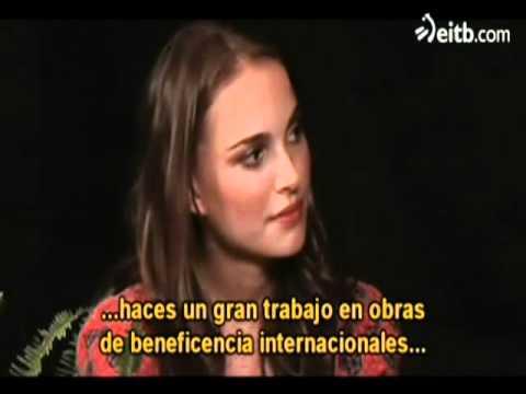 Entrevista de Zach Galifianakis a Natalie Portman