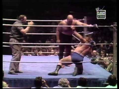 Bruno Sammartino vs. George Steele- MSG 5/1977
