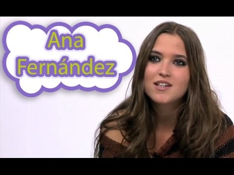 """Ana Fernández: """"Twitter es para el trabajo, Facebook es más personal"""""""