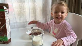 OMG, CUTEST TODDLER MORNING ROUTINE VIDEO EVER! Fun video for kids, toddlers