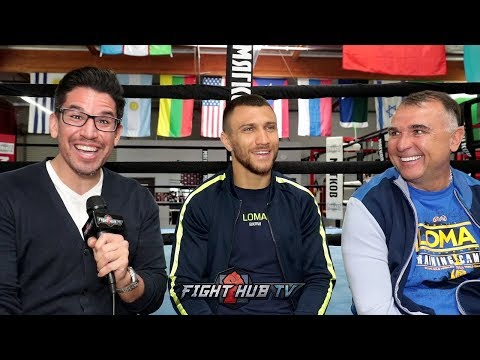 """YOU QUIT, YOU'RE NOT GONNA GET PAID!"" - LOMACHENKO ON RIVALS SIGNING CONTRACTS SO THEY DONT QUIT"