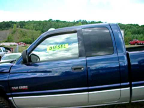 2001 DODGE RAM CUMMINS 5 SPEED DIESEL 4X4 FOR SALE WWW.NYDIESELS.COM