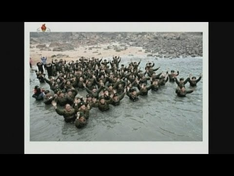North Korea leader Kim Jong-un gets ecstatic welcome at military units