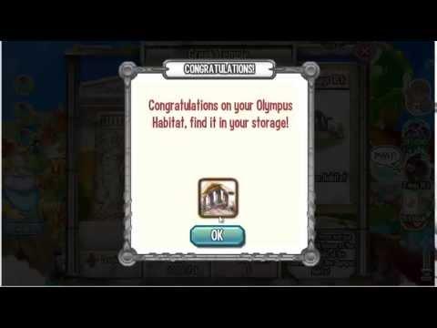 Dragon City Olympus habitat & Quest 2