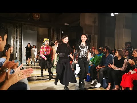 Emerging Chinese talents showcase designs at London Fashion Week