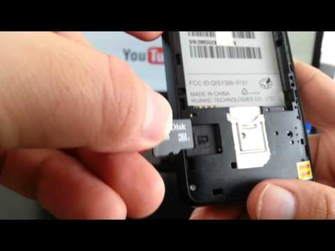 Huawei Ascend Y220 Video clips