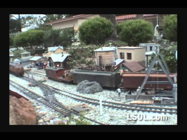 Garden Trains: Garden Railway Layout Tour - Todd Brody