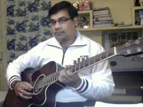 Pyar hua iqrar hua on guitar