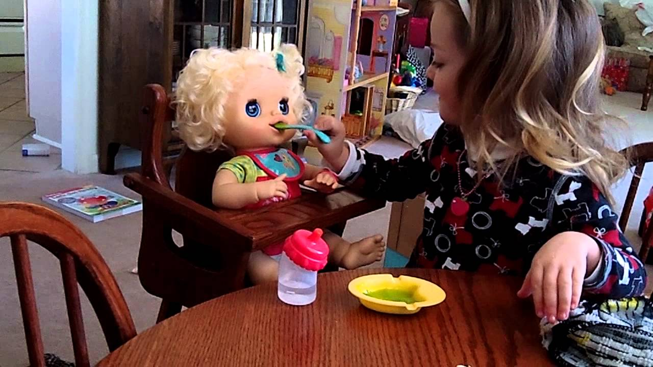 My Baby Alive Doll Blonde Youtube