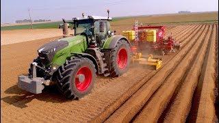 Planting Potatoes | Fendt 1050 + 8 row Grimme GL 860 Compacta | ROPAGRI SPRL Belgium