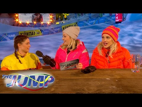 Louise Thompson vs Ashley Roberts Pub Quiz - The Jump: On The Piste